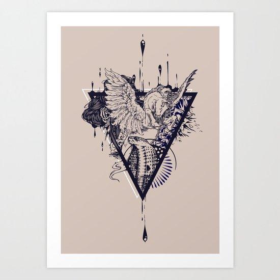 Untamed Art Print