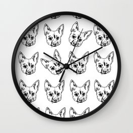 Fonzy Fonzy Fonzy Wall Clock