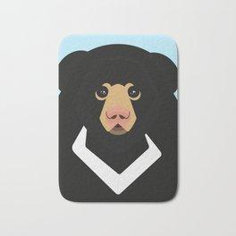 Sloth bear Bath Mat