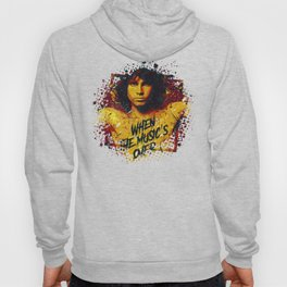 Jim Morison (the doors) | Pop Art | Old School Collection Hoody