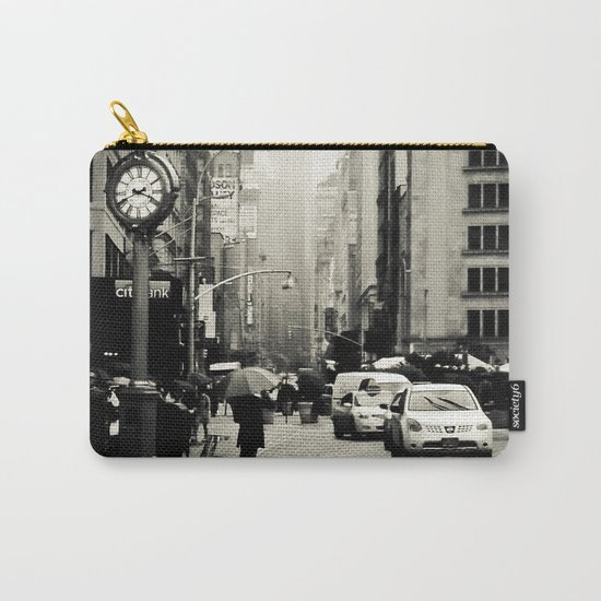 New York City - 5th Avenue in the Rain Carry-All Pouch