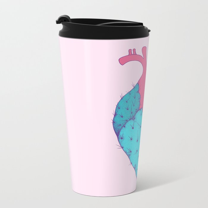 Cactus Heart Travel Mug