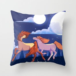 Where Are We Off To? Throw Pillow