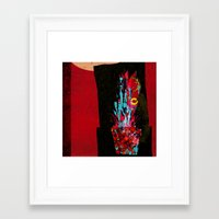plant Framed Art Prints featuring plant by frederic levy-hadida