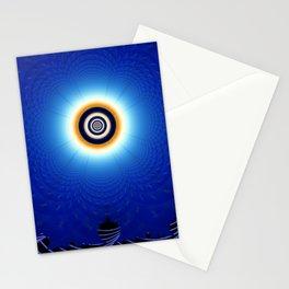 Fractal Sunrise Stationery Cards