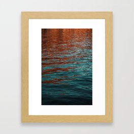 Lake Powell Firewater 2 Framed Art Print