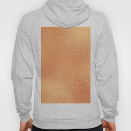 Simply Metallic in Copper Hoody