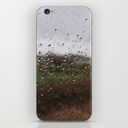 """When it's raining all day long"" iPhone Skin"
