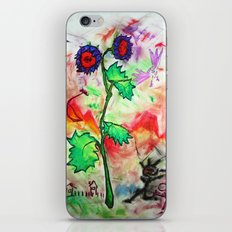 FlowerPower iPhone & iPod Skin