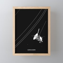 CASSINI-HUYGENS Framed Mini Art Print