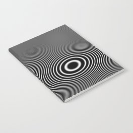 Moire Ripple Notebook