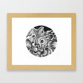 Bats I Framed Art Print