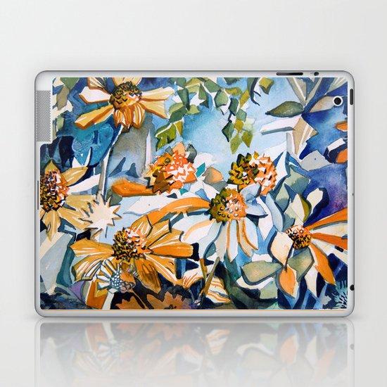 Carnival of Daisies Laptop & iPad Skin