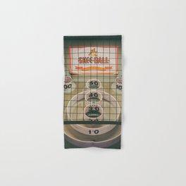 Skee Ball Game Hand & Bath Towel