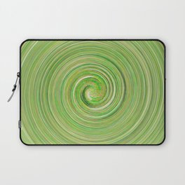 Green forest waves Laptop Sleeve