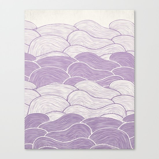 The Lavender Seas Canvas Print