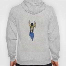 blue the deer girl Hoody