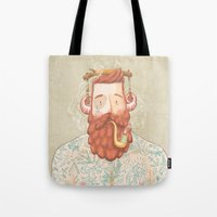music Tote Bags featuring Music by Seaside Spirit