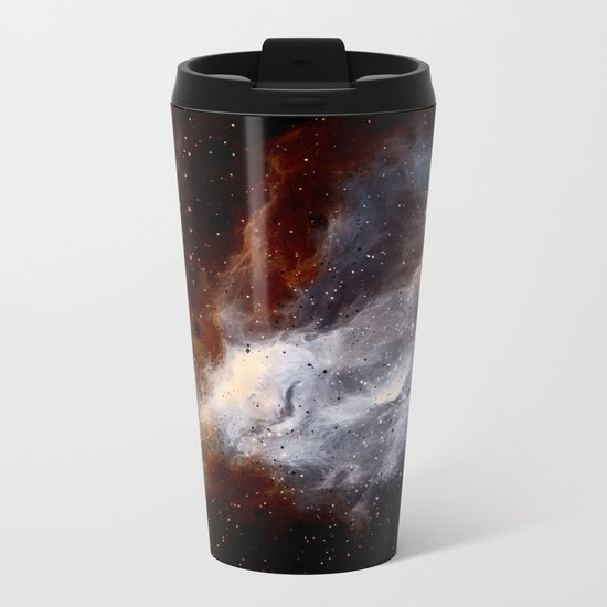 Dust, hydrogen, helium and other ionized gases Metal Travel Mug