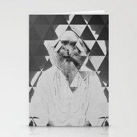 kaleidoscope Stationery Cards featuring Kaleidoscope by Mrs Araneae