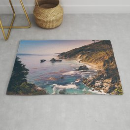 Big Sur Pacific Coast Highway Rug