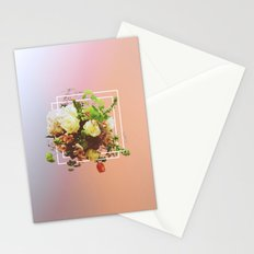 Cubic Bouquet Stationery Cards