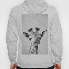 Baby Giraffe - Black & White Hoody