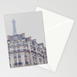 Paris photography, Eiffel tower, Saint-Germain-des-Prés, Paris architecture, boulevard Stationery Cards