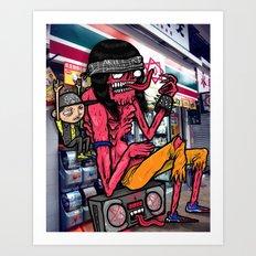 METALHEADZ Art Print