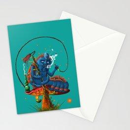 Oruga azul  Stationery Cards