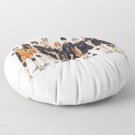karasuno after match Floor Pillow