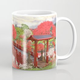 Asian Landscape Coffee Mug
