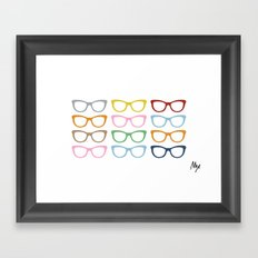 Glasses #4 Framed Art Print