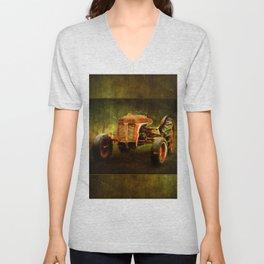 Ferguson Waiting on LaGest ~ Tractor ~ Ginkelmier Inspired Unisex V-Neck