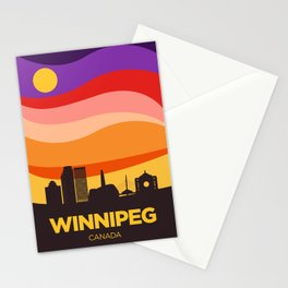 Winnipeg (Autumn) Stationery Cards
