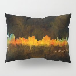 Jerusalem City Skyline Hq v4 Pillow Sham