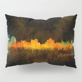 Jerusalem City Skyline Hq v4 Pillow Sham