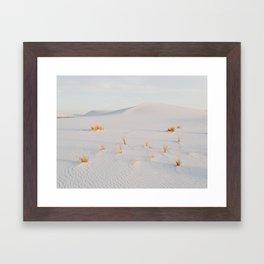 White Sands National Monument Framed Art Print