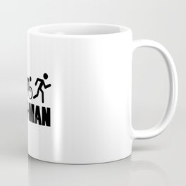 Iron-Man Triathlon Coffee Mug