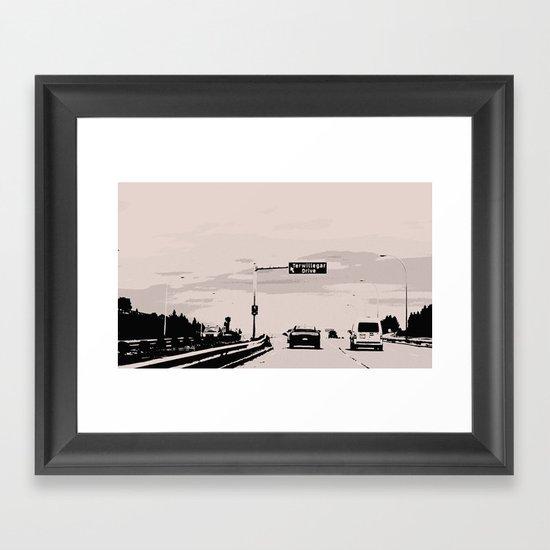 Terwillegar Drive Framed Art Print