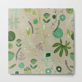 Emerald Forest beige #homedecor Metal Print