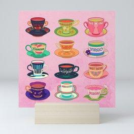Zodiac Tea Mini Art Print