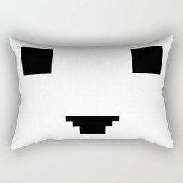 Face number four Rectangular Pillow
