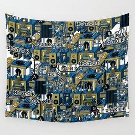 Motor Funk Wall Tapestry