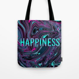 "ABSTRACT LIQUIDS HAPPINESS ""51"" Tote Bag"