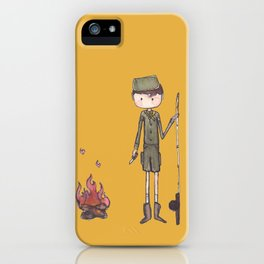 Boy Scout -Hes got a knife iPhone Case