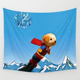 Super doggy Wall Tapestry