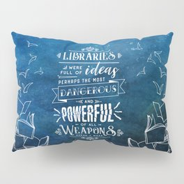 Libraries Pillow Sham