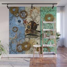 Nautical Steampunk Wall Mural