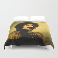 frank Duvet Covers featuring Frank Zappa - replaceface by replaceface